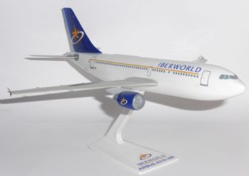 Airbus A310 Iberwolrd Airlines Spain 1990's Vintage Collectors Model Scale 1:200 E